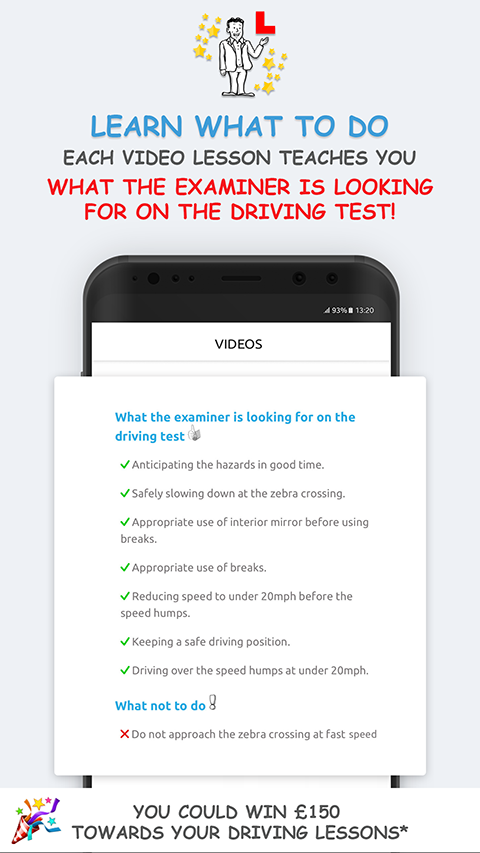 Theory Test and Driving Test UK Tips App - vroome.com/app