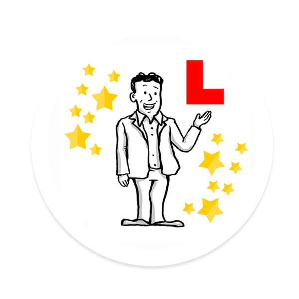 Theory Test Driving Test Tips Vroome Logo
