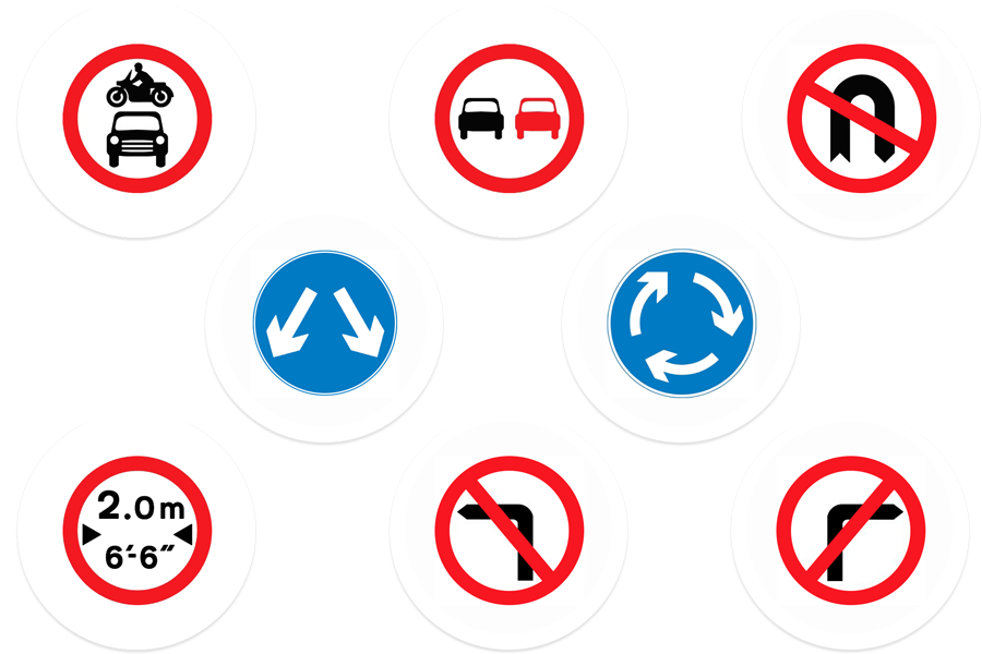Theory Test Signs Driving Vroome App